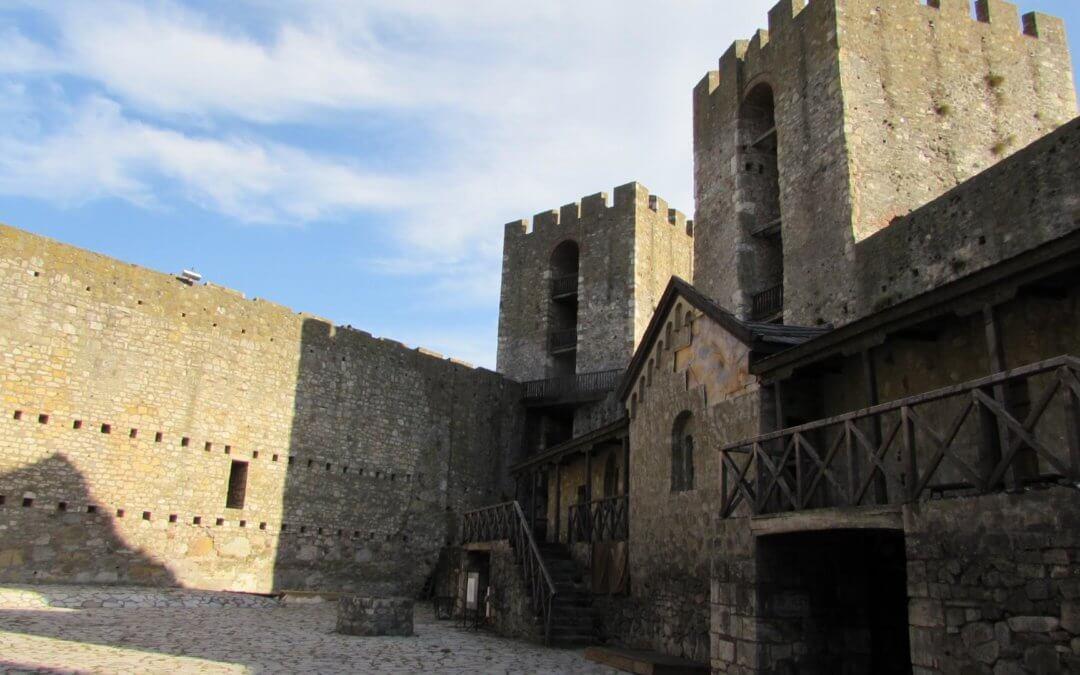 Smederevo Fortress near Belgrade