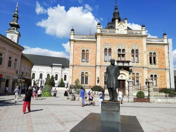 Sightsee of Novi Sad city center