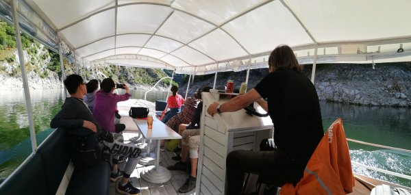 Uvac boat
