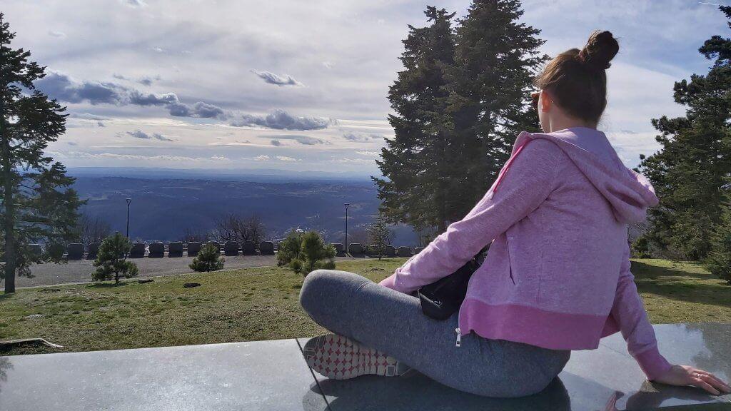 Sight from Avala mountain