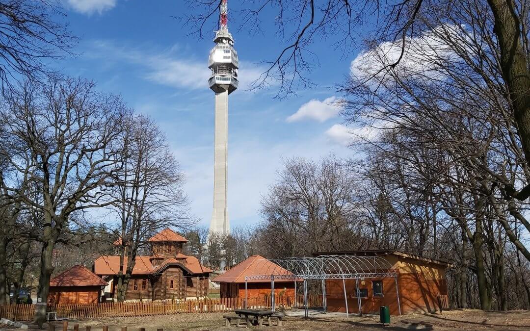 Avala TV Tower in Belgrade